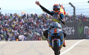 Гонка Moto2 Гран-При Арагона 2015 0709443