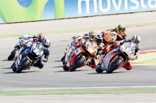 Гонка Moto2 Гран-При Арагона 2015 0709492