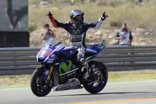 Гонка MotoGP Гран-При Арагона 2015 0709506
