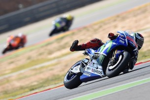 Гонка MotoGP Гран-При Арагона 2015 0709525