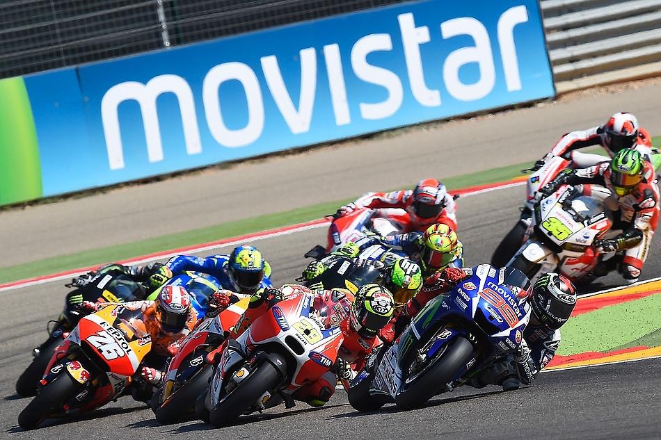 Гонка MotoGP Гран-При Арагона 2015 0709533