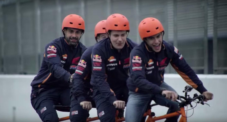 Repsol Challenge: Тренировка на двухколесном жеребце (видео)