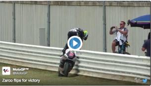 2015-09-13 14-18-08 Все о мире MotoGP - Традиционное победное сальто в исполнении Зарко