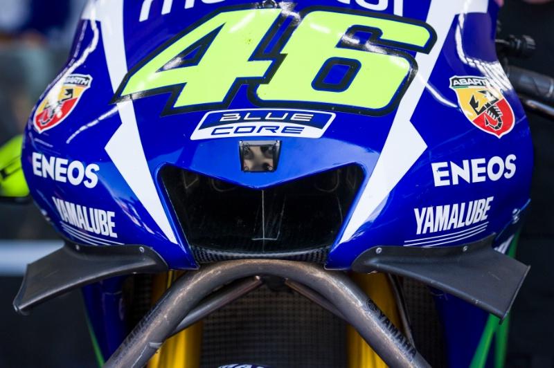 Крылья на Yamaha YZR-M1