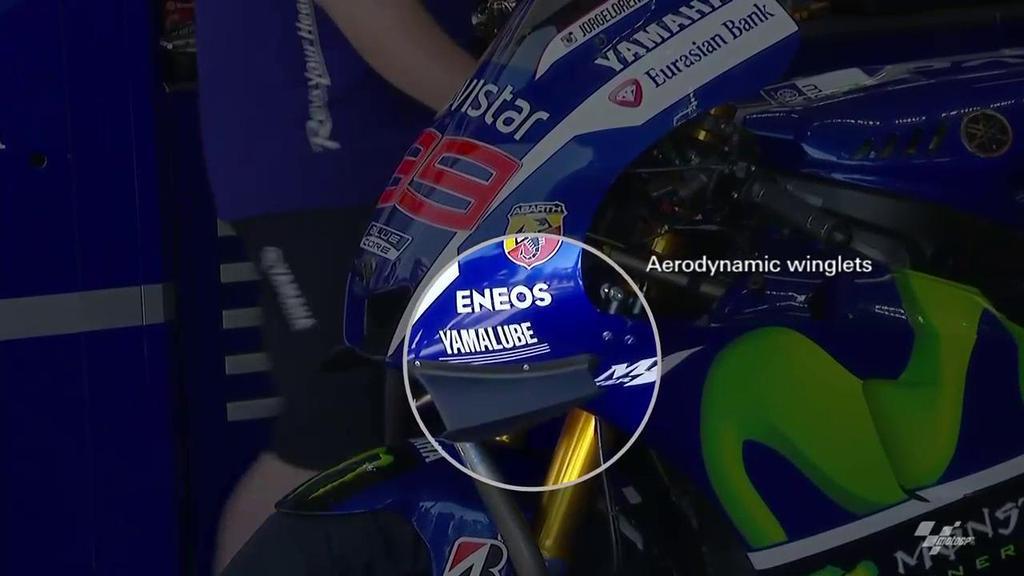 """Yamaha также """"окрылила"""" мотоцикл"""