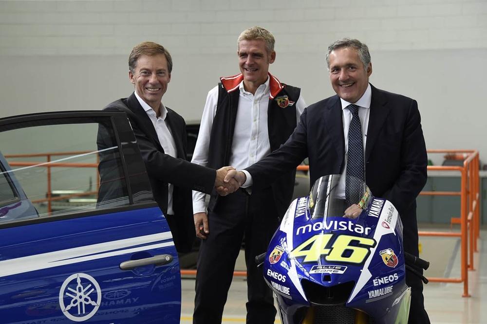 Компания Abarth выпустила автомобили Yamaha Factory Racing Edition (+фото)