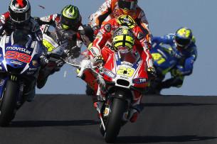 Гонка MotoGP Гран-При Австралии 20150715753