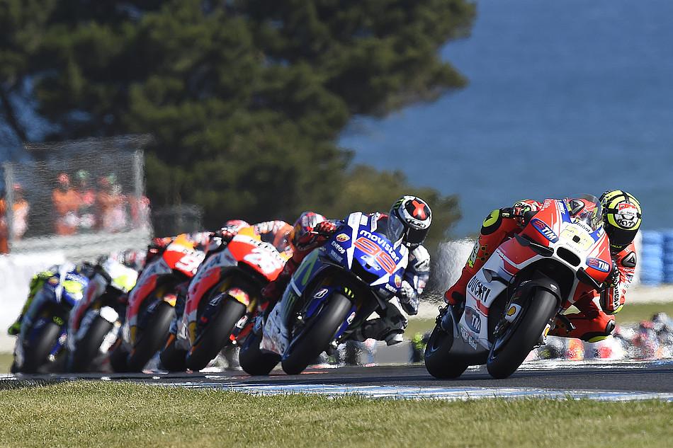 Гонка MotoGP Гран-При Австралии 20150715754