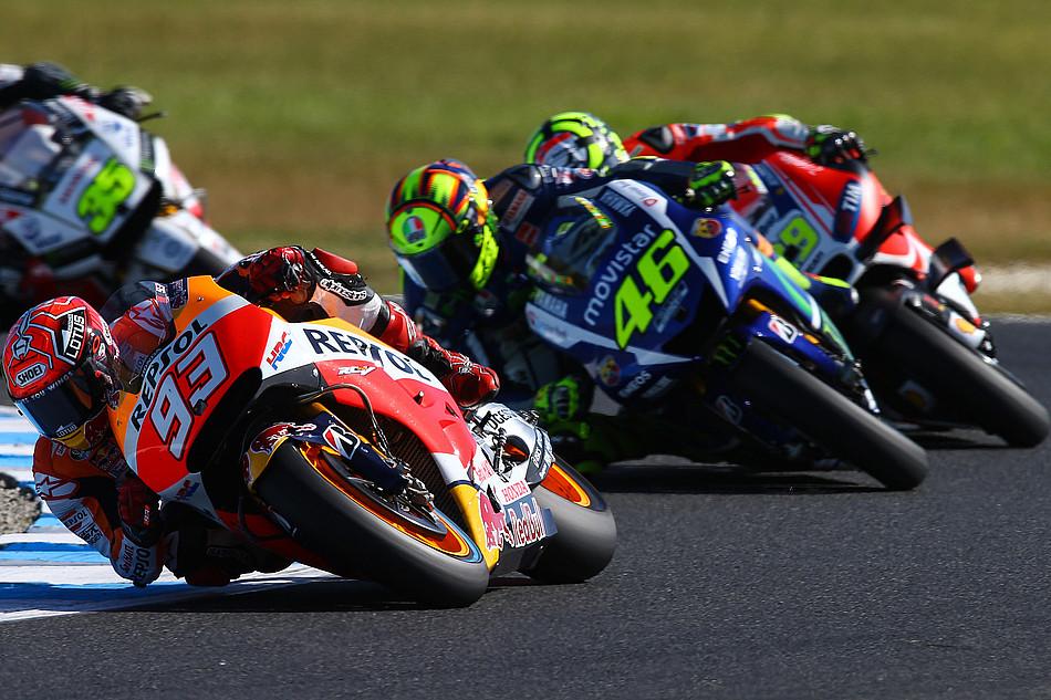Гонка MotoGP Гран-При Австралии 20150715775