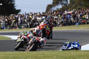 Гонка MotoGP Гран-При Австралии 20150715779