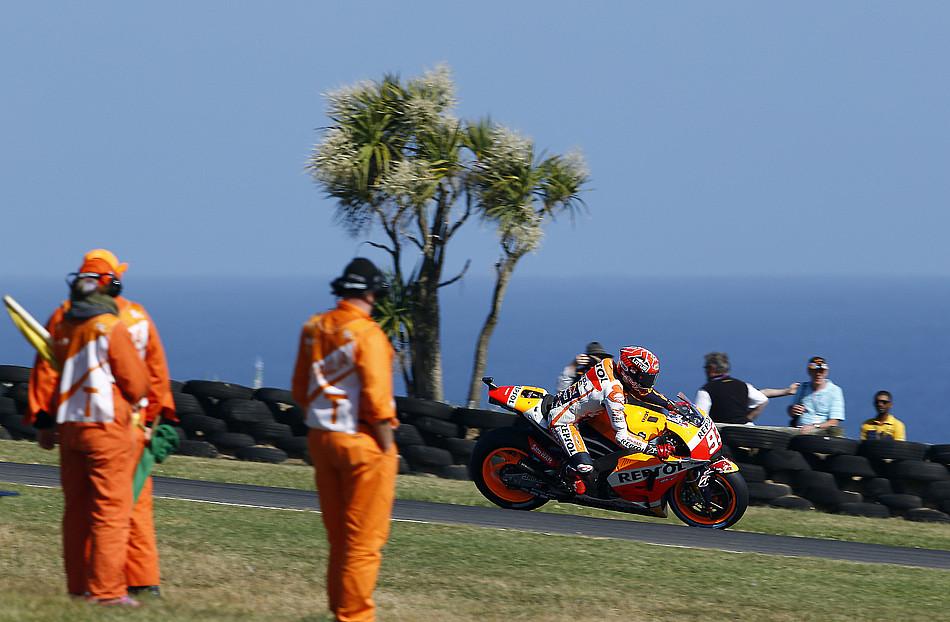 Гонка MotoGP Гран-При Австралии 20150715782