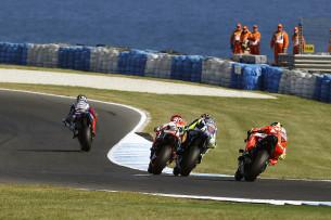 Гонка MotoGP Гран-При Австралии 20150715787