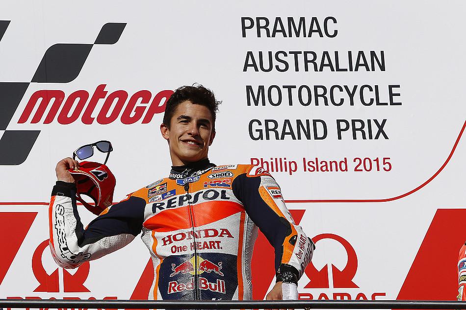 Гонка MotoGP Гран-При Австралии 20150715788