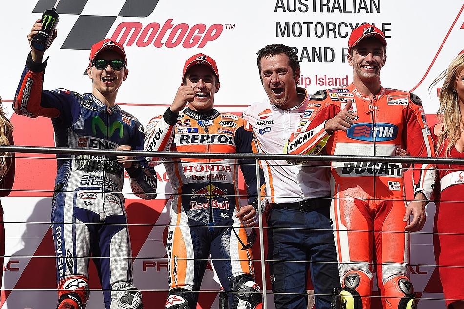 Гонка MotoGP Гран-При Австралии 20150715793