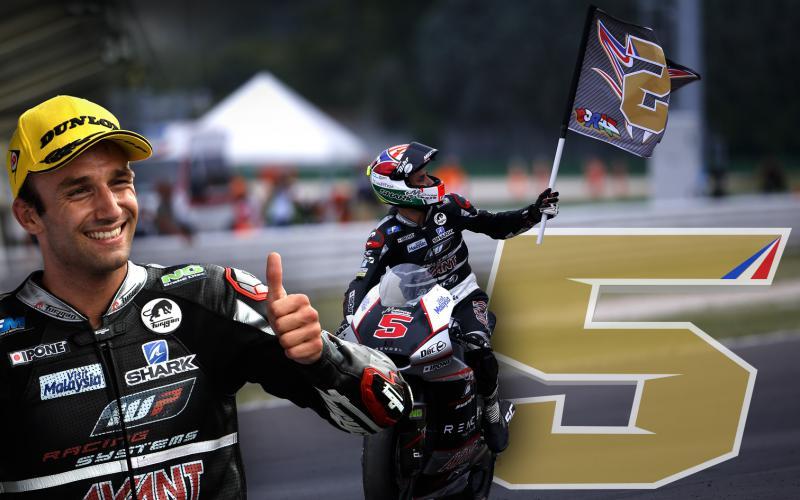 Жоанн Зарко - новоиспеченный чемпион мира Moto2