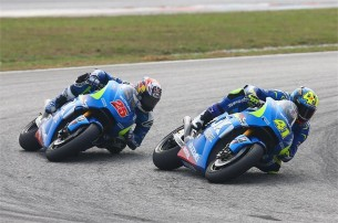 Маверик виньялес и Алейш Эспаргаро, MotoGP Гран-При Малайзии 2015