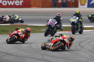 Педроса, Маркес, Лоренцо, Росси, MotoGP Гран-При Малайзии 2015