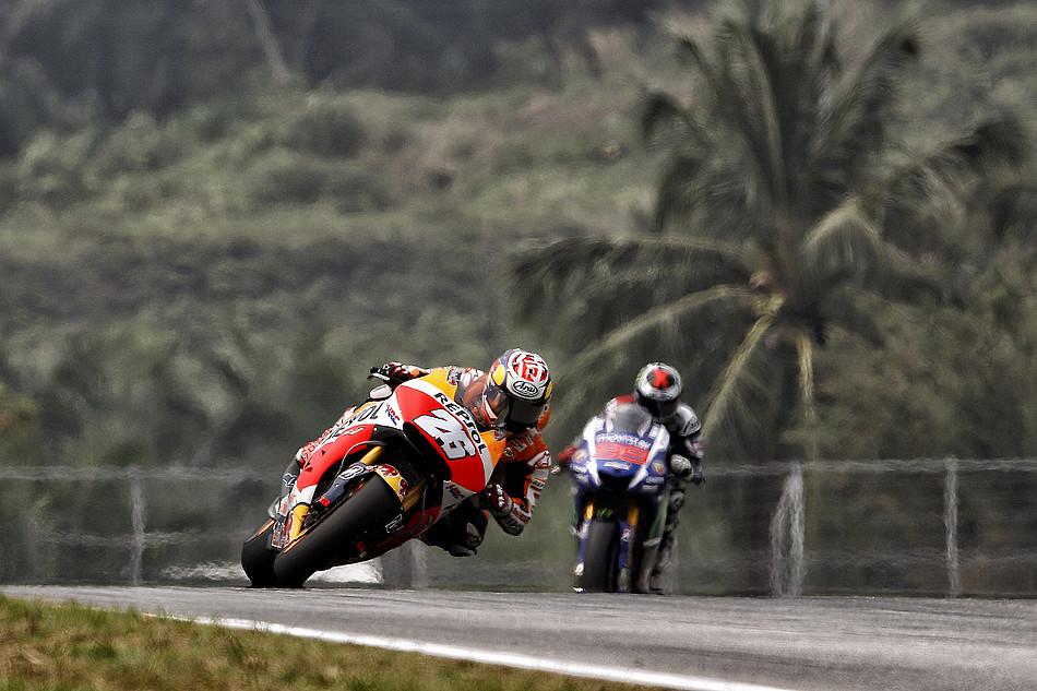 Дани Педроса и Хорхе Лоренсо, MotoGP Гран-При Малайзии 2015
