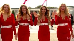 #AustralianGP 2015: Девушки паддока (видео)