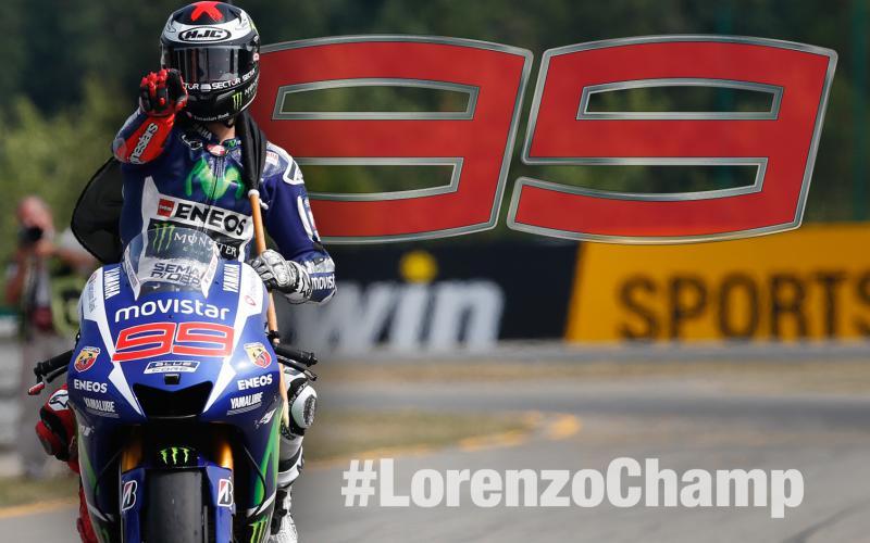 Хорхе Лоренцо - чемпион мира MotoGP 2015!