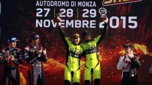 Валентино Росси на Monza Rally Show 2015
