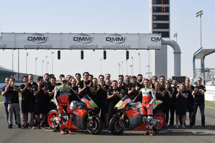 Презентация Aprilia RS-GP 2016