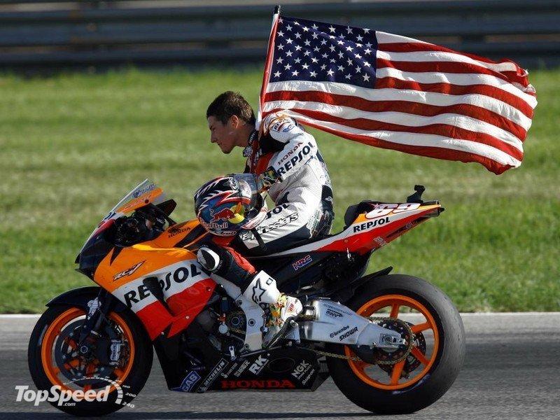 Ники Хэйден - чемпион мира MotoGP 2006 года