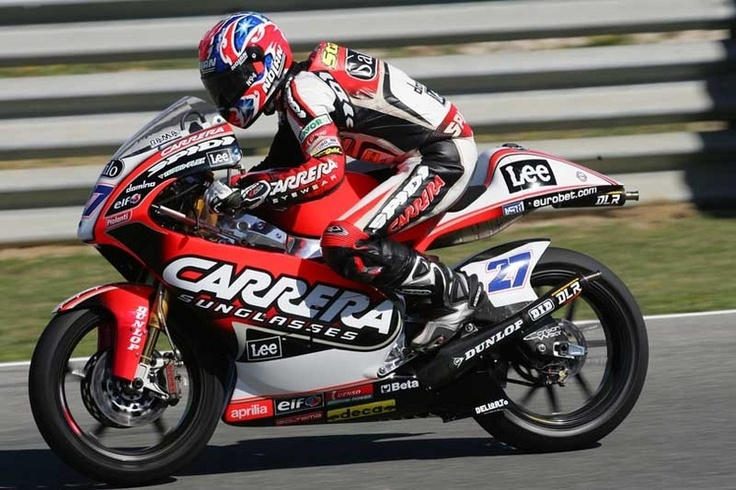 Стоунер на Aprilia RS250 (2005)