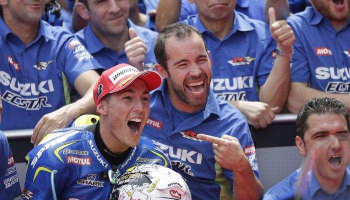 Алейш Эспаргаро, Suzuki Team
