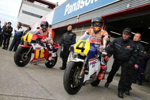 Маркес и Педроса (Honda Thanks Day)
