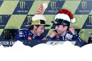 У Росси и Лоренцо тоже Новый год!