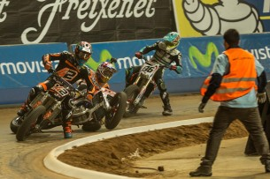 Superprestigio Dirt Track 2015 Superprestigio-2015-Barcelona-Steve-English-19