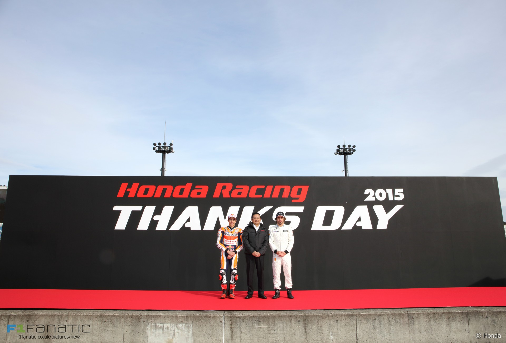 Марк Маркес и Фернандо Алонсо  Honda Thanks Day