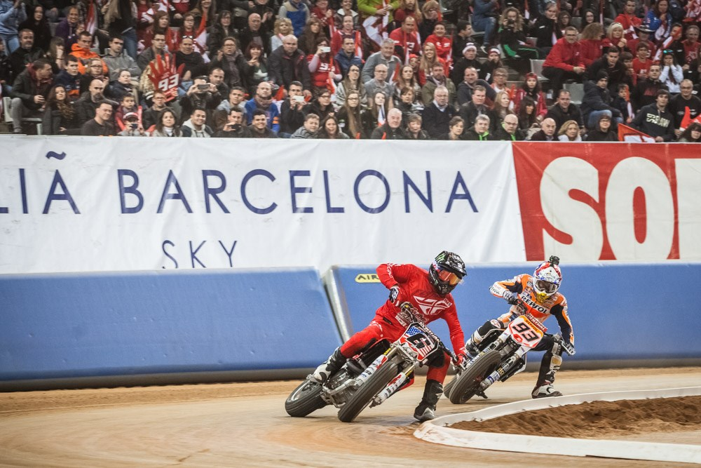 Бэйкер и Маркес (Superprestigio, 2015)