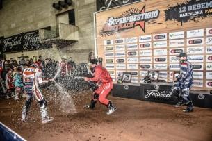 SuperPrestigio Dirt Track 2015,  Barcelona, Palau Sant Jordi