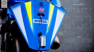 Календарь MotoGP, январь 2016 (S. Jones)