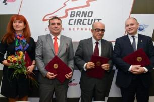 Продление контракта этапа в Брно