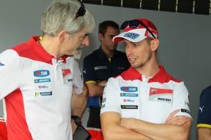 Кейси Стоунер и Джиджи Даллинья, Ducati MotoGP 2016, приватные тесты в Сепанге