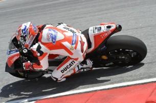 Приватные тесты Ducati MotoGP 2016, Кейси Стоунер