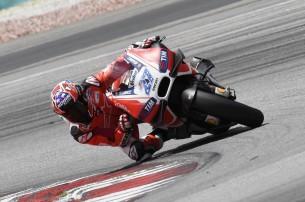 Кейси Стоунер, Ducati MotoGP 2016, приватные тесты в Сепанге