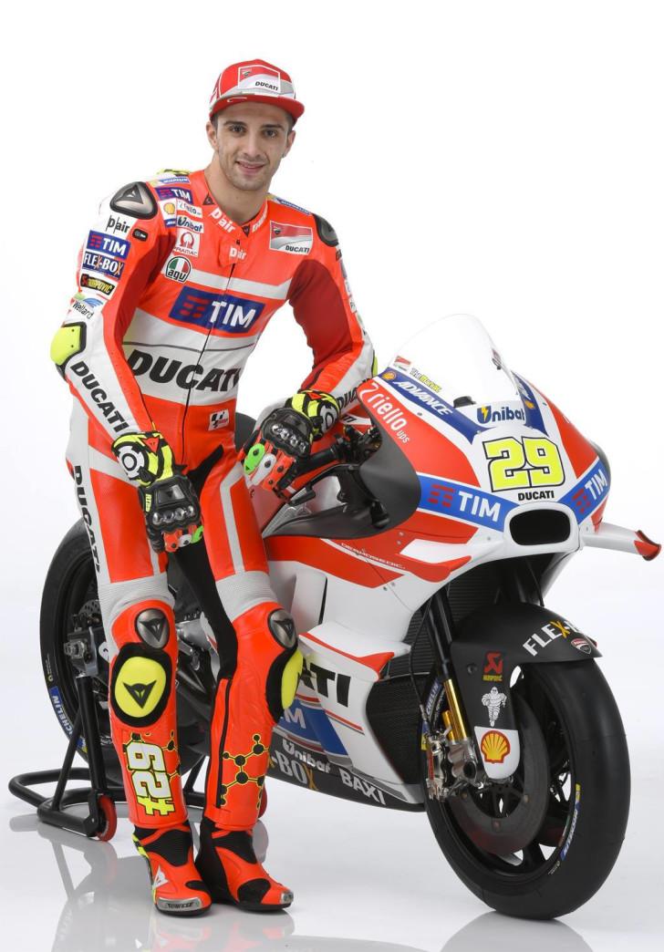 Андреа Ианноне и Ducati Desmosedici GP