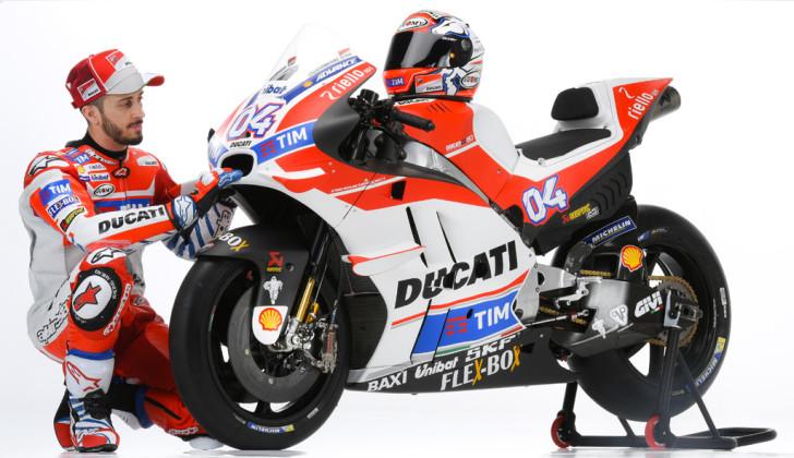 Андреа Довициозо и Ducati Desmosedici GP