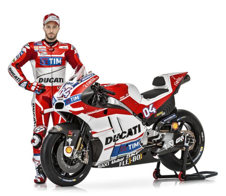 Андреа Довициозо, Ducati Desmosedici GP