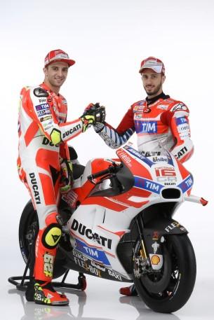 Ианноне и Довициозо, Ducati Desmosedici GP 2016