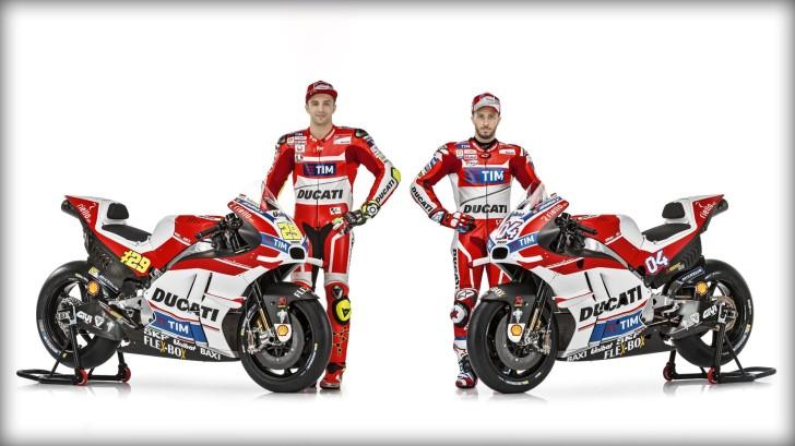 Ианноне и Довициозо, Ducati Desmosedici GP16