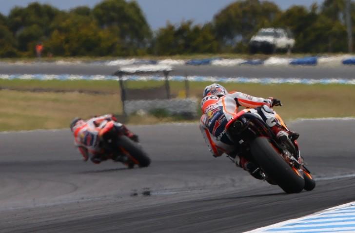 Марк Маркес и Дани Педроса, Repsol Honda MotoGP 2016