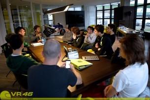 Росси и VR46 Riders Academy