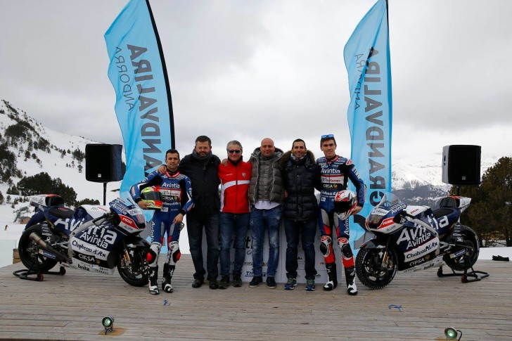 Презентация Avintia Racing 2016
