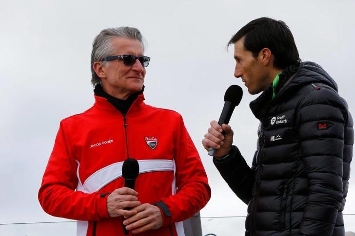 Паоло Чиабатти, презентация Avintia Racing 2016