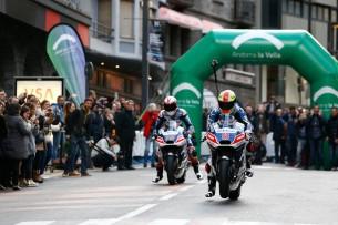 Баз и Барбера, презентация Avintia Racing 2016